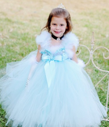 Cinderella Flower Girl Dress Ideas